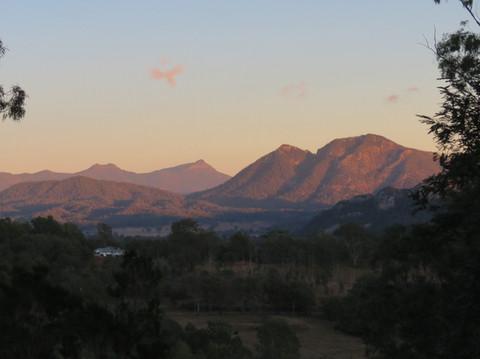 Sunrise at Bilyana Cottages