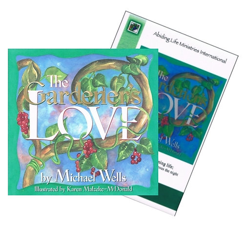 The Gardener's Love - book & dvd set
