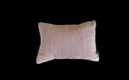 Pink Ribbed Cushion