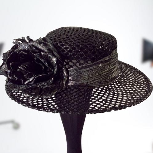 Blazing Beauty boater hat