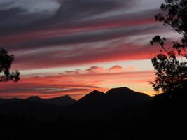 Sunset at Bilyana Cottages