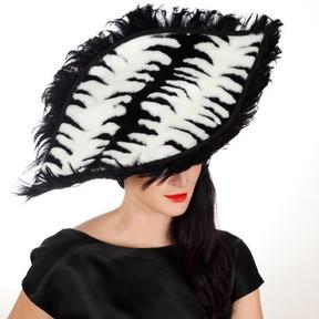 BLACK & WHITE Hat