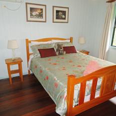 Bedroom in Rosella Cottage