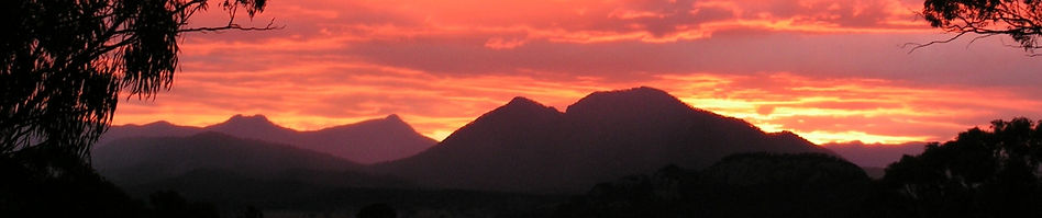 Bilyana Cottages sunset
