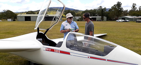 Learn to fly at Boonah Gliding Club