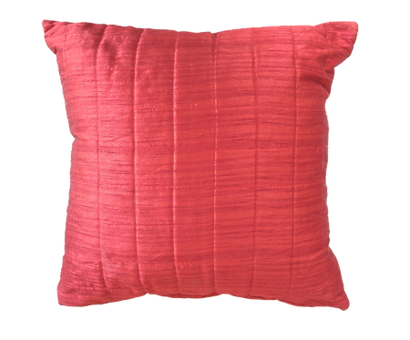 Red Quilted Cushion