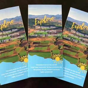 Tri-fold Tourism Brochures