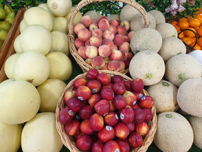 Stone Fruit and Melons