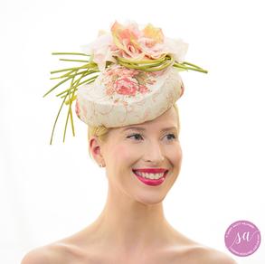 Floral Fantasy hat