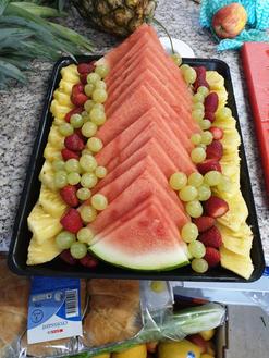 Water Melon Mixed Fruit Platter
