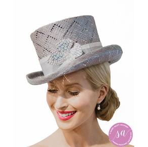 PEARL-BLUE hat