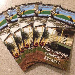 Tri-fold Accommodation brochures