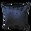 Thumbnail: Black Leopard Cushion