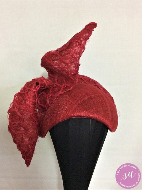 Ruby Twirl hat