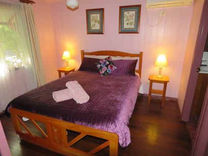 Bedroom in Kookaburra Cottage
