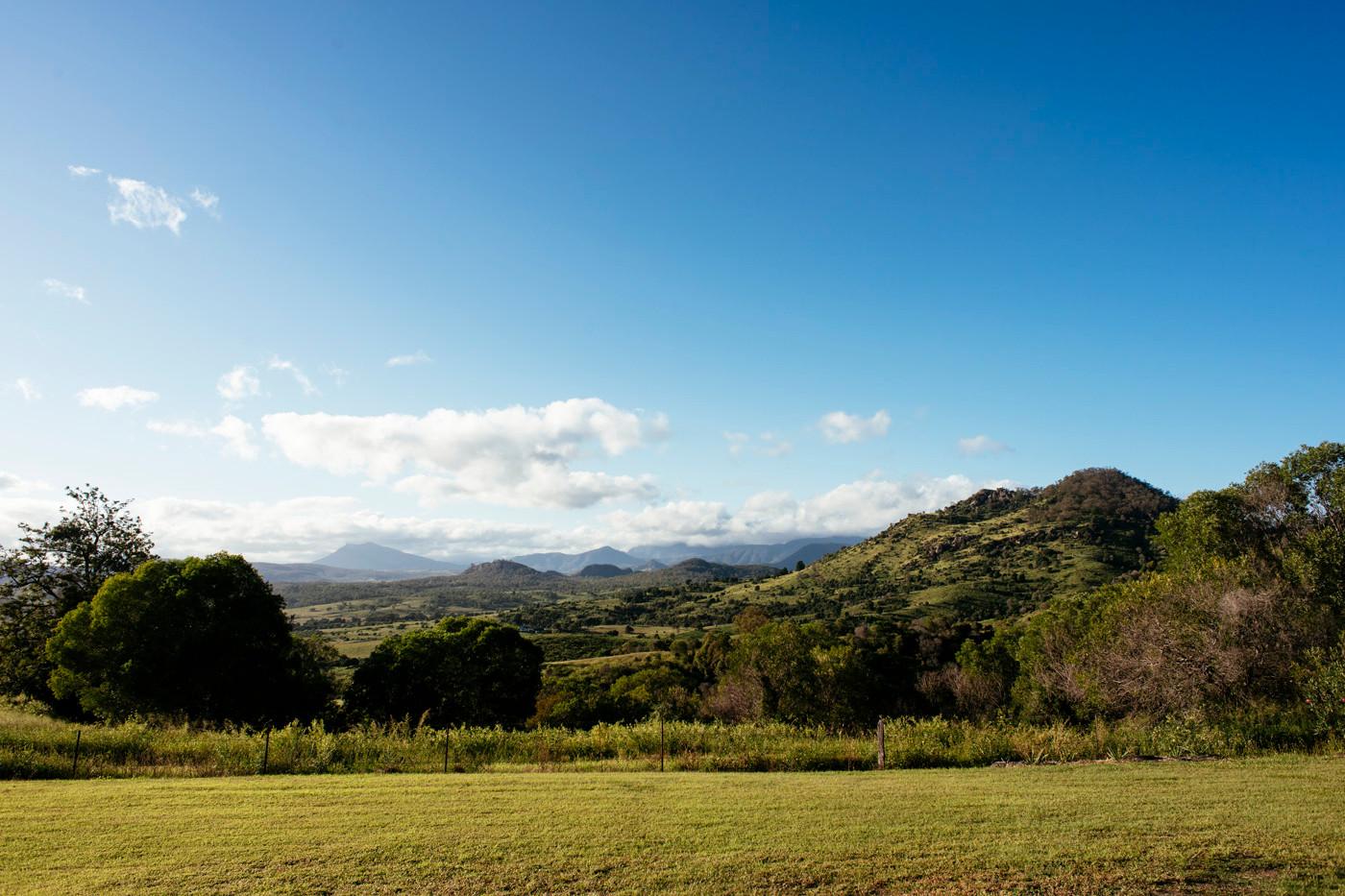 Mt Alford Lodge views