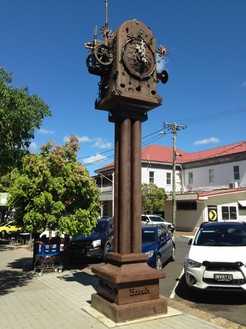 Boonah's Town Clock