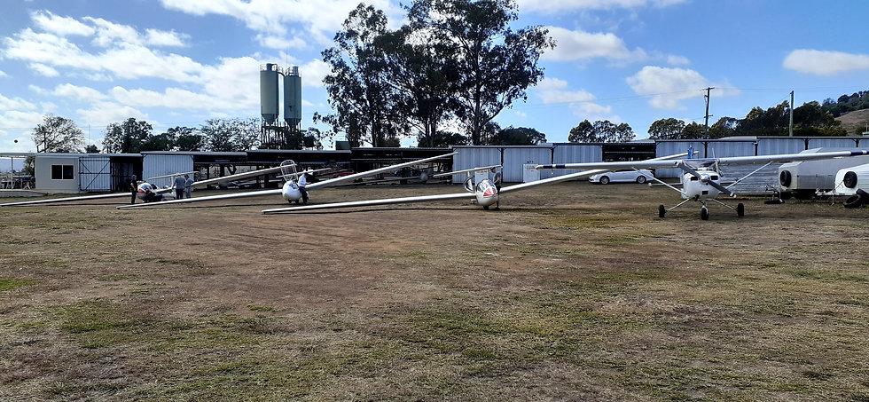 Boonah Gliding Club glider fleet
