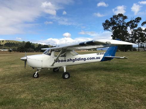 Boonah Gliding Club tow plane