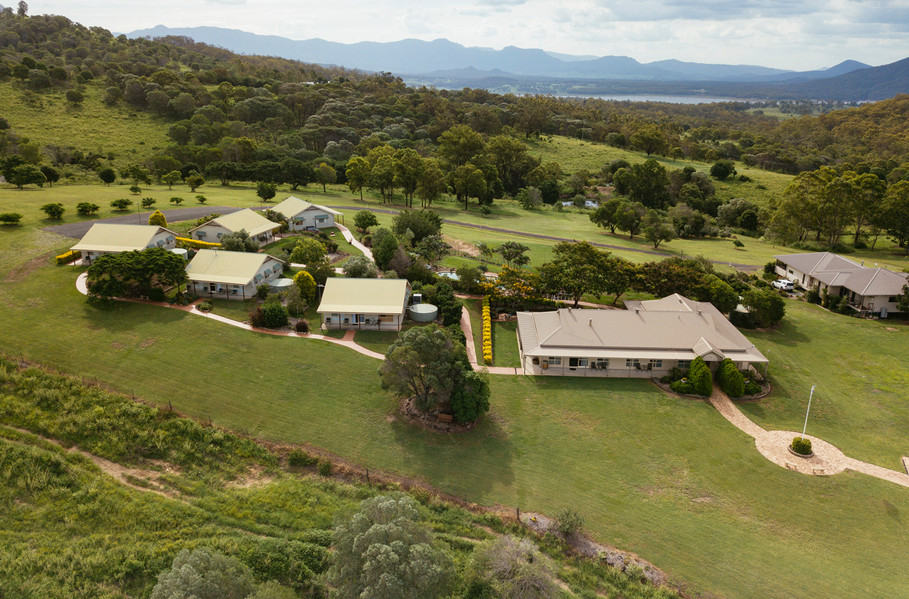 Mount Alford Lodge aerial