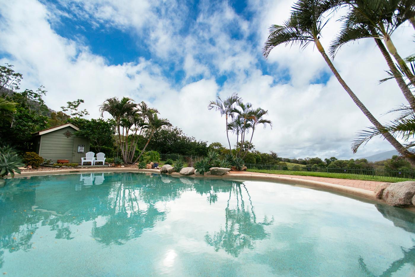 Mt Alford Lodge pool
