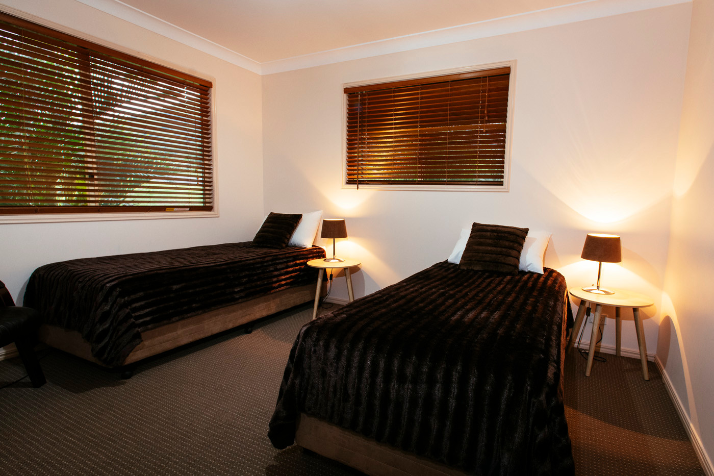 Mt Alford Lodge bedrooms