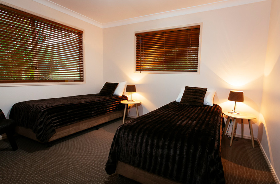 Mt Alford Lodge bedrooms