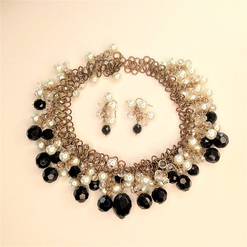 Glamour Pearl & Beads Set
