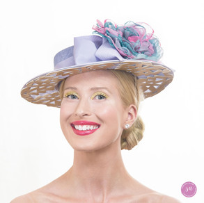 Orchid Bloom hat