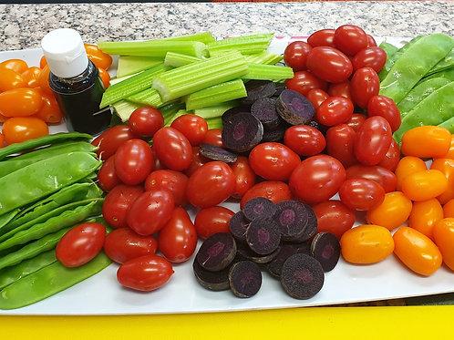 Mixed veg platter