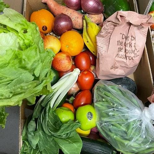 Large fruit and veg box
