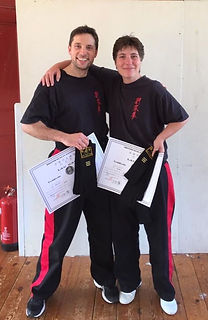 Pam and Andy's 3rd Degree pass
