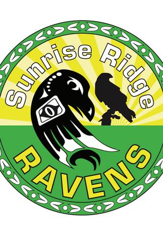 Sunrise Ridge Ravens Logo