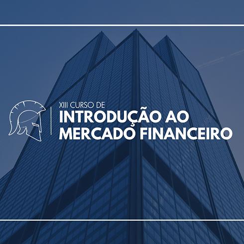 XIII Curso de Introdução ao Mercado Financeiro