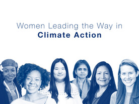 Women Leading the Way in Climate Action