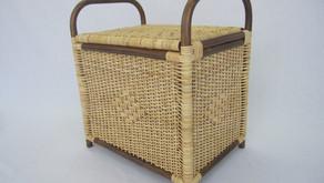 籐製収納ボックス(脱衣かご) 納品