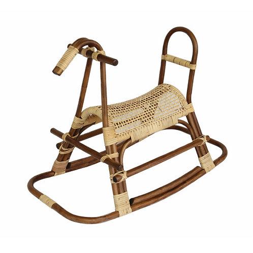籐製木馬(子供馬)