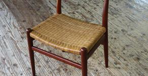 ハンス・J・ウェグナー W2の籐編み替えを承りました