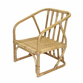 籐製子供椅子
