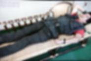 籐製カウチソファ