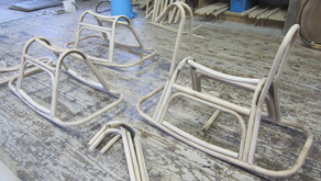 籐製木馬(子供馬) 製作