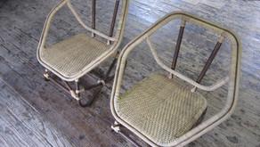 籐製六角椅子のご紹介