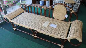 籐製カウチソファ 納品