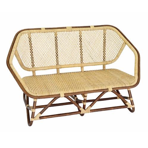 六角2人掛け椅子