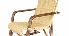 籐のくつろぎ椅子を納品させて頂きました(兵庫県H様)