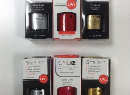 Comparison: Genuine CND Shellac & Counterfeit CND Shellac