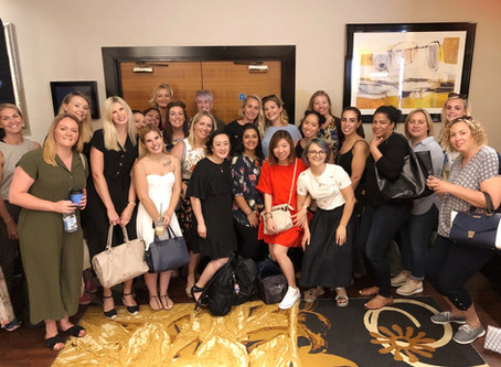 SWEET SQUARED HOSTS CND SHELLAC LUXE LAUNCH EVENTS, TO NAIL PROS AND ELITE CONSUMER PRESS