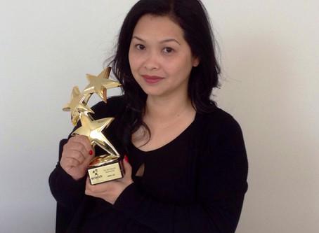 CND Education Ambassador Anna Lee wins The Tom Holcomb Shooting Star Award 2014