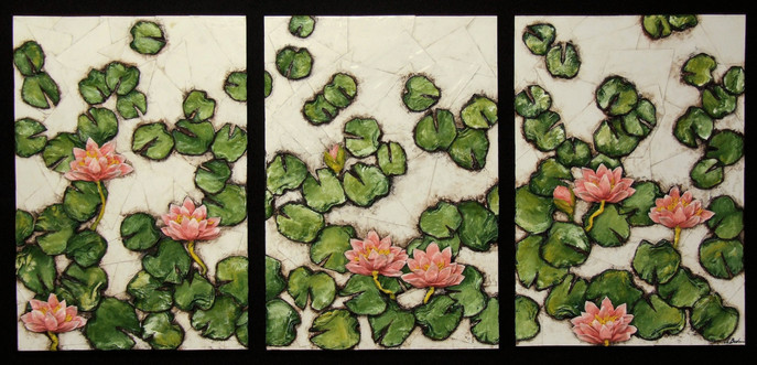 Water Lillies  (triptych)