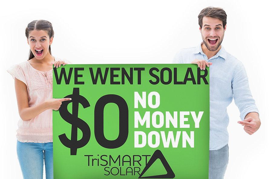 Solar Power Zero Down